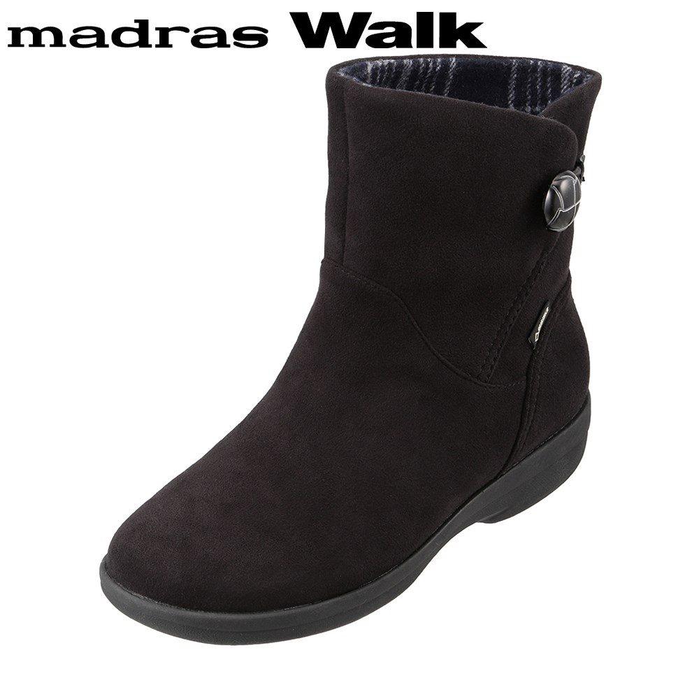 マドラスウォーク madras Walk MWL2109 レディース靴 4E相当 ブーツ ショートブーツ 防水 雨の日 ゴアテックス 透湿 蒸れにくい ブラック SP