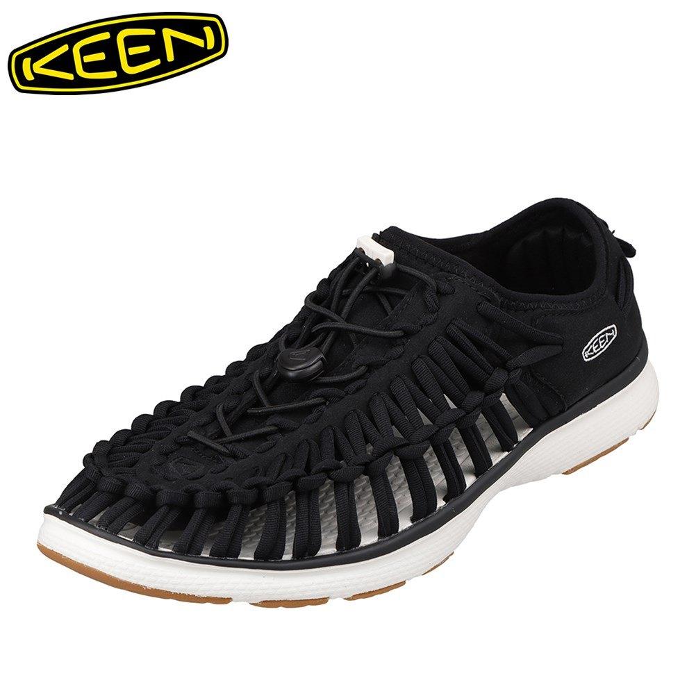キーン KEEN 1017050 メンズ靴 靴 シューズ 2E相当 スニーカー 軽量 軽い UNEEK O2 ユニーク オーツー 小さいサイズ対応 大きいサイズ対応 ブラック SP