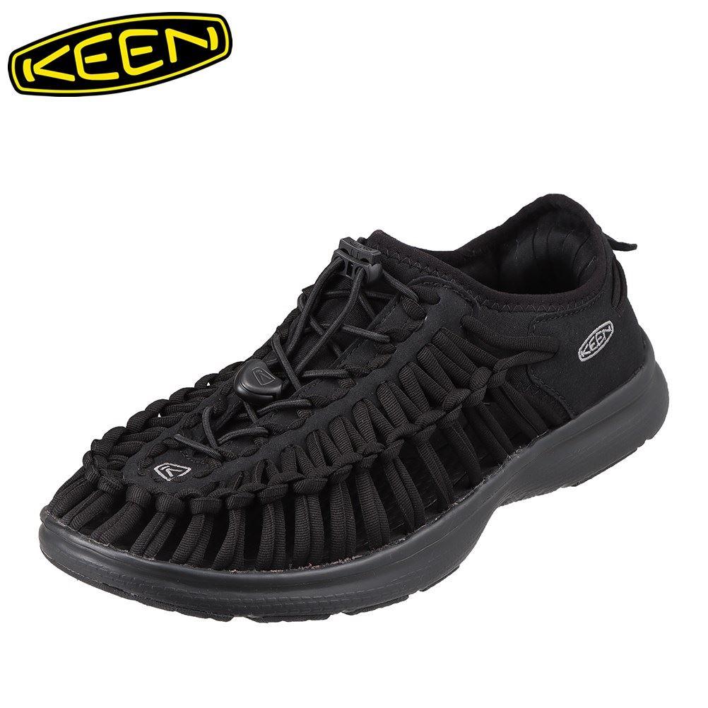 キーン KEEN 1018709 メンズ靴 靴 シューズ 2E相当 スニーカー 軽量 軽い UNEEK O2 ユニーク オーツー 小さいサイズ対応 大きいサイズ対応 ブラック SP