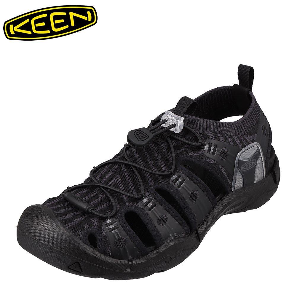 キーン KEEN 1021387 メンズ靴 靴 シューズ 2E相当 サンダル ニット EVOFIT 小さいサイズ対応 大きいサイズ対応 ブラック SP