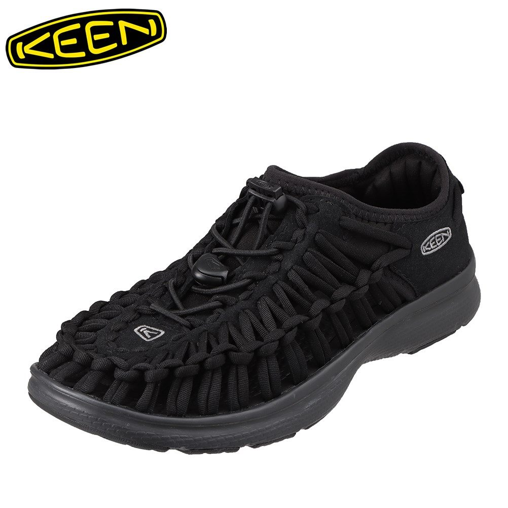 キーン KEEN 1018723 レディース靴 靴 シューズ 2E相当 スニーカー 軽量 軽い UNEEK O2 ユニーク オーツー 大きいサイズ対応 ブラック SP