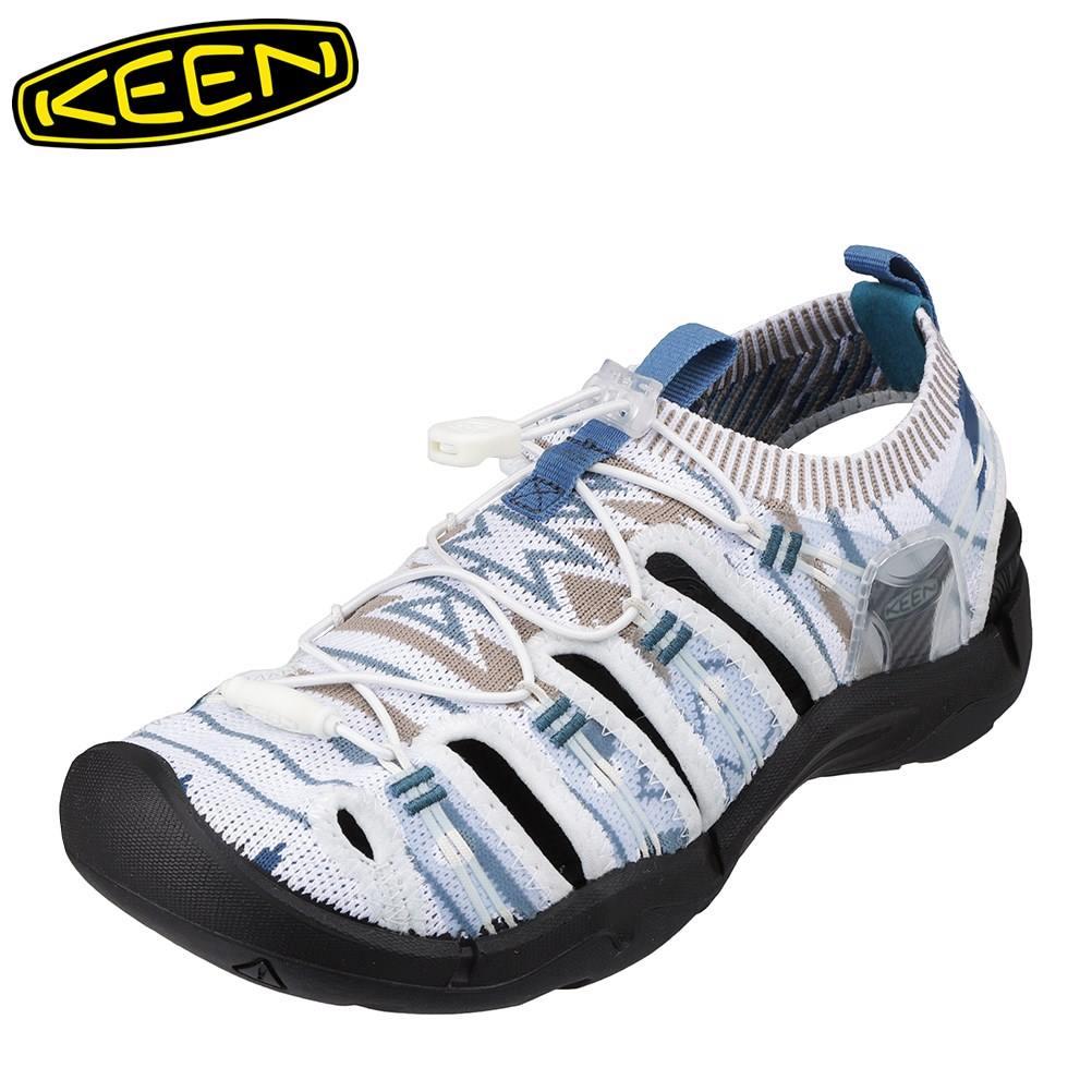 キーン KEEN 1021401 レディース靴 靴 シューズ 2E相当 サンダル ニット EVOFIT 大きいサイズ対応 ホワイト SP