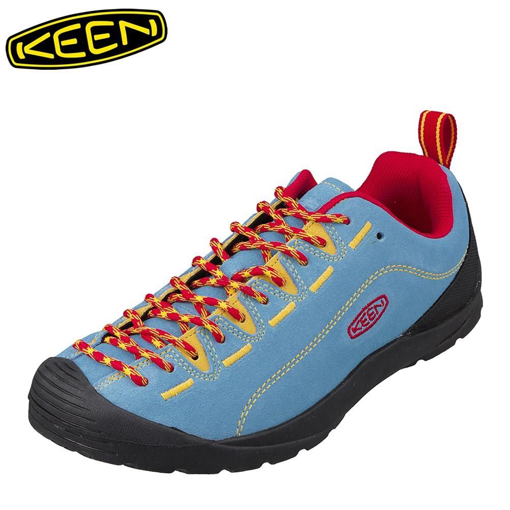 キーン KEEN 1020303 メンズ靴 靴 シューズ 2E相当 スニーカー 本革 レザー JASPER ジャスパー 小さいサイズ対応 大きいサイズ対応 サックス SP