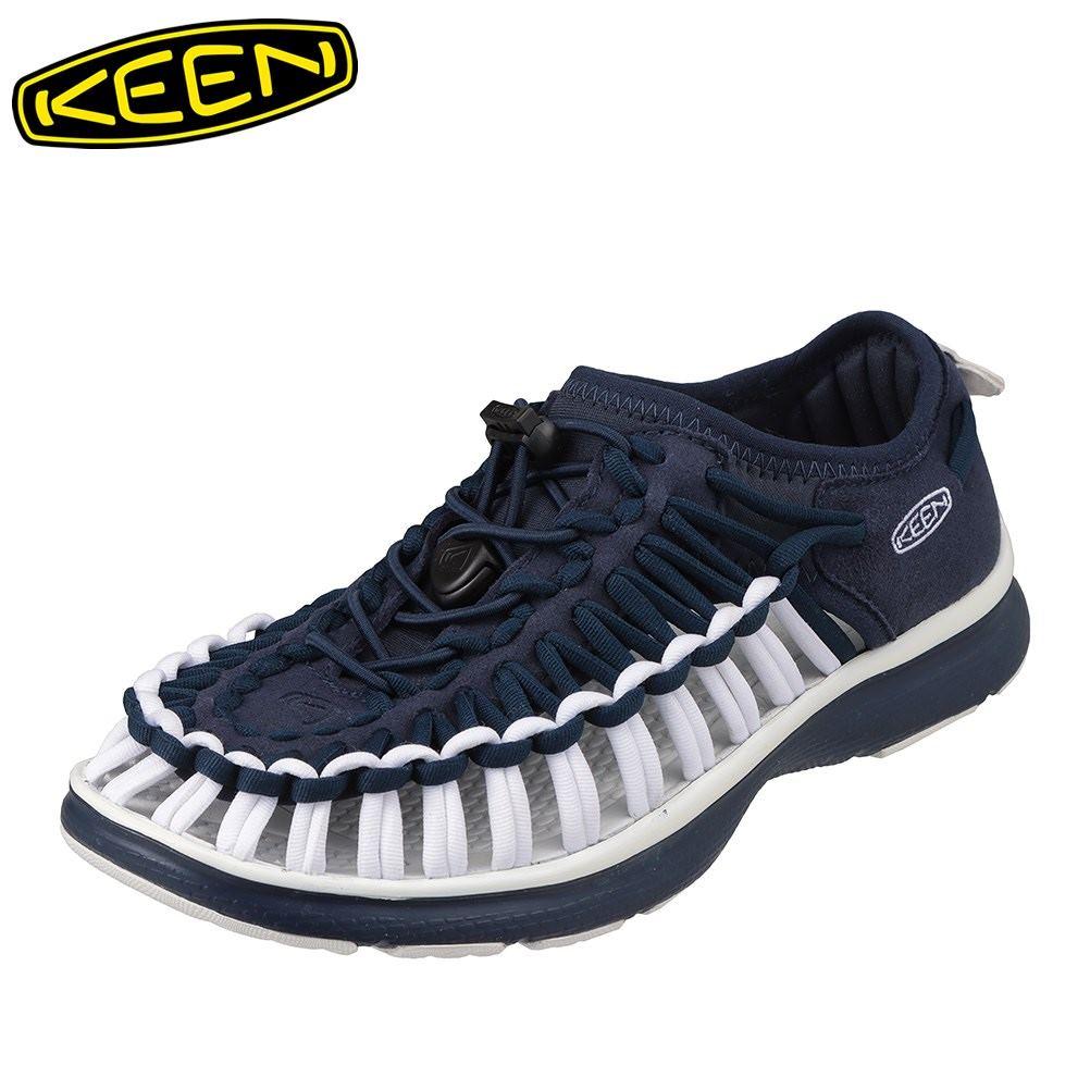 キーン KEEN 1021993 レディース靴 靴 シューズ 2E相当 スニーカー 軽量 軽い UNEEK O2 ユニーク オーツー 大きいサイズ対応 ネイビー SP