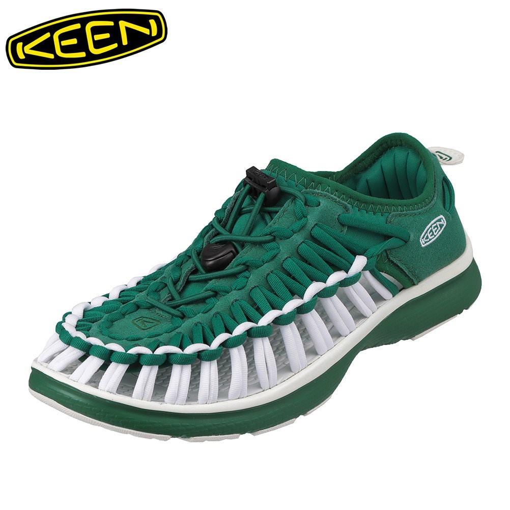 キーン KEEN 1021994 レディース靴 靴 シューズ 2E相当 スニーカー 軽量 軽い UNEEK O2 ユニーク オーツー 大きいサイズ対応 グリーン SP