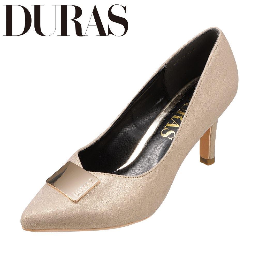 デュラス DURAS DR7212 レディース靴 靴 シューズ 2E相当 パンプス ポインテッドトゥ Vカット ハイヒール ゴールド SPhrdtsQCx