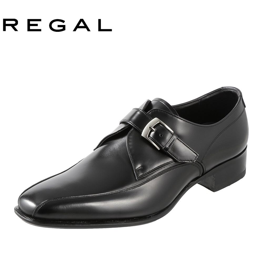 [リーガル] REGAL REGAL モンクストラップ 728R メンズ | トラッドシューズ | 本革 国産 | フォーマル ドレスシューズ | ブランド 人気 | ブラック SP