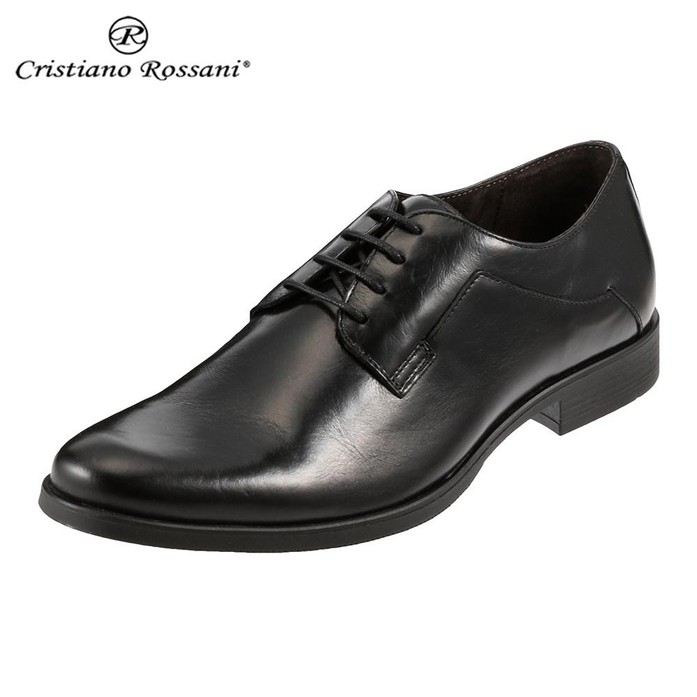 クリスチアーノ・ロザーニ Cristiano Rossani 1193 メンズ | ビジネスシューズ | イタリア製|メイドインイタリー|イタリー製|イタリア 本革|MADE IN ITALY|幅広 ゆったり | ブラック SP 取寄