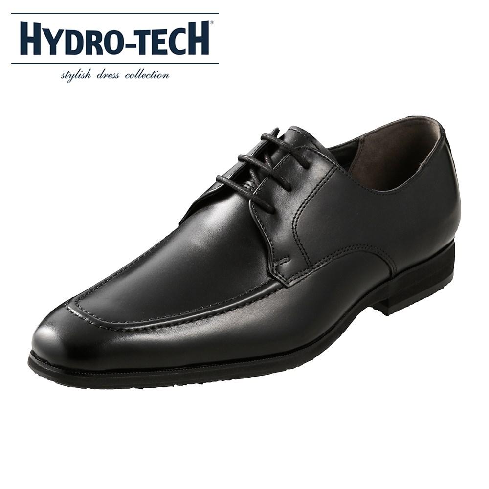 [ハイドロテック スタイリッシュドレスコレクション] HYDRO TECH HD1201 メンズ | ビジネスシューズ 防水 | 外羽根 レースアップ | 本革 低反発インソール 疲れにくい | 大きいサイズ対応 28.0cm | ブラック SP
