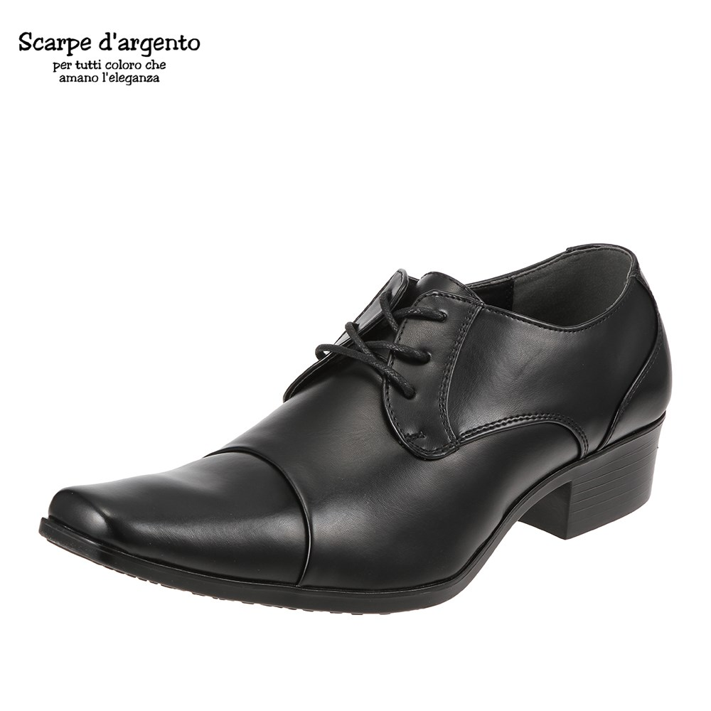 uk availability 89c85 87013 [スカルペダルジェント] Scarped' argento 3135 men's | Business shoes | Antibacterial  deodorization shock buffering | Long feather | out of the nose Simple basic  ...
