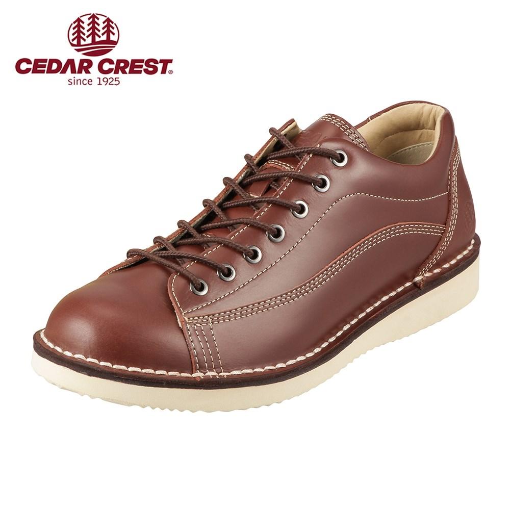 [セダークレスト] CEDAR CREST CC-1031 メンズ | ウォーキングシューズ | ステッチダウン | レースアップ | ブランド 人気 | ダークブラウン SP