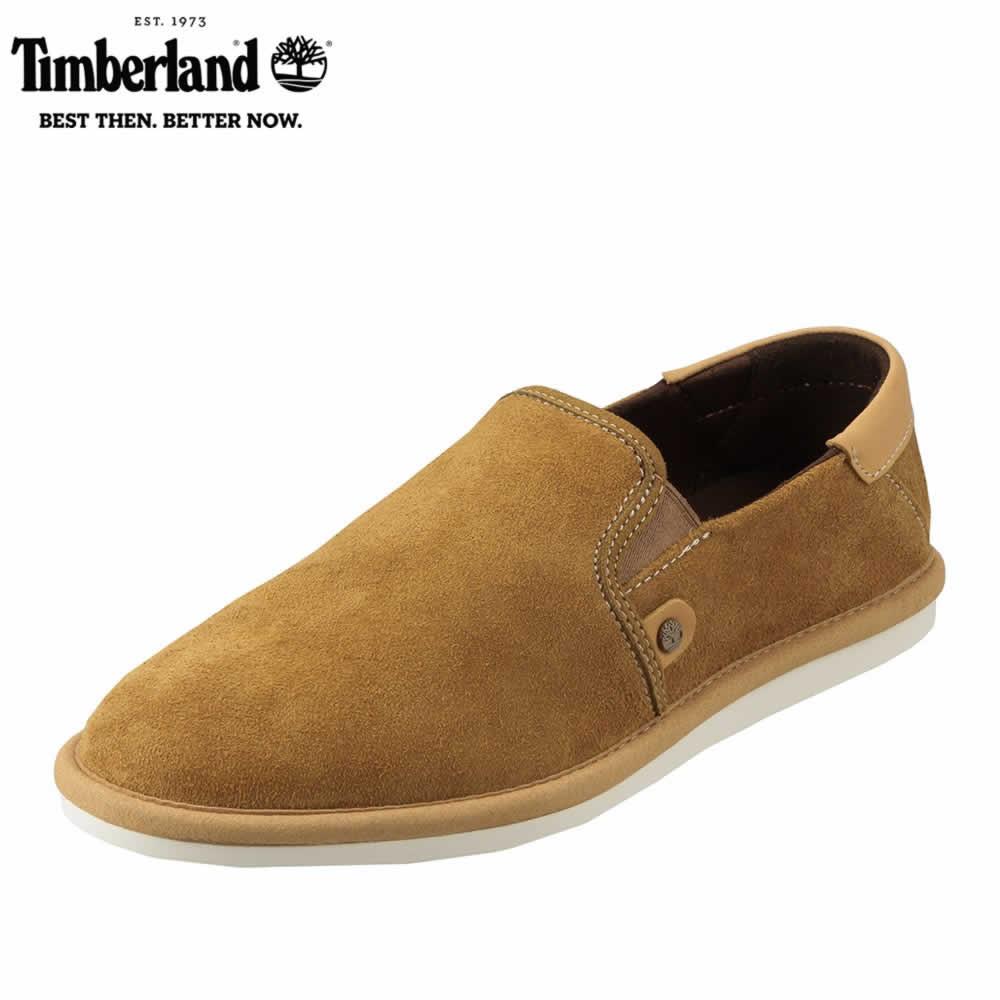 [ティンバーランド] Timberland TIMB A12LR メンズ | カジュアルシューズ | スリッポン シンプル | 高機能 アウトドア | ブランド 人気 | ライトブラウン SP