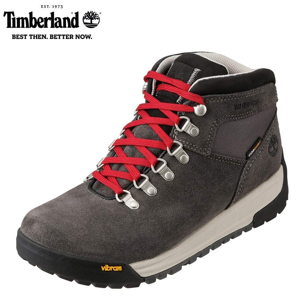 ティンバーランド Timberland ワーク A1RHZ メンズ靴 靴 シューズ 3E相当 アウトドアブーツ ショートブーツ 防水 GT Scramble ハイカット ビブラムソール 人気 ブランド アメカジ 大きいサイズ対応 28.0cm グレー TSRC