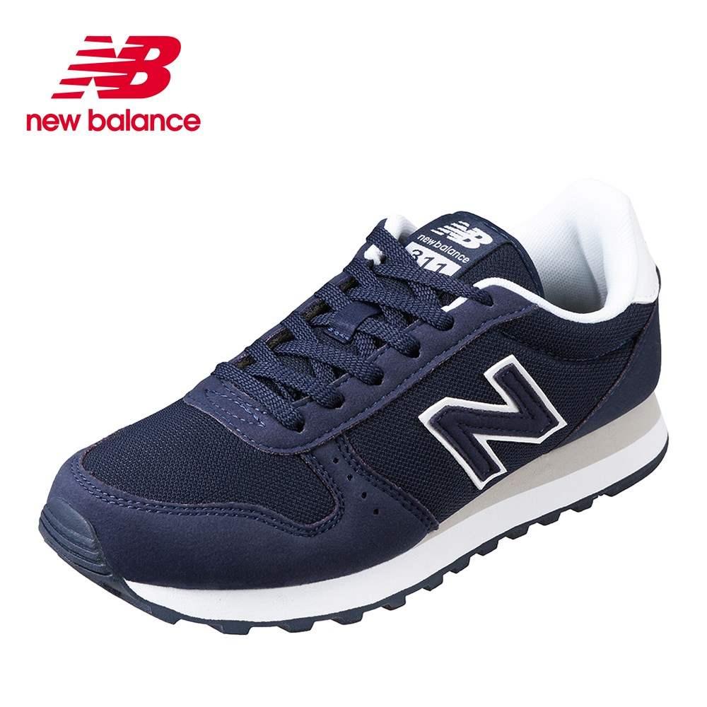 ニューバランス new balance ML311SSG メンズ靴 D メンズスニーカー スエード調 シンプル ベーシック 大きいサイズ対応 ネイビー TSRC