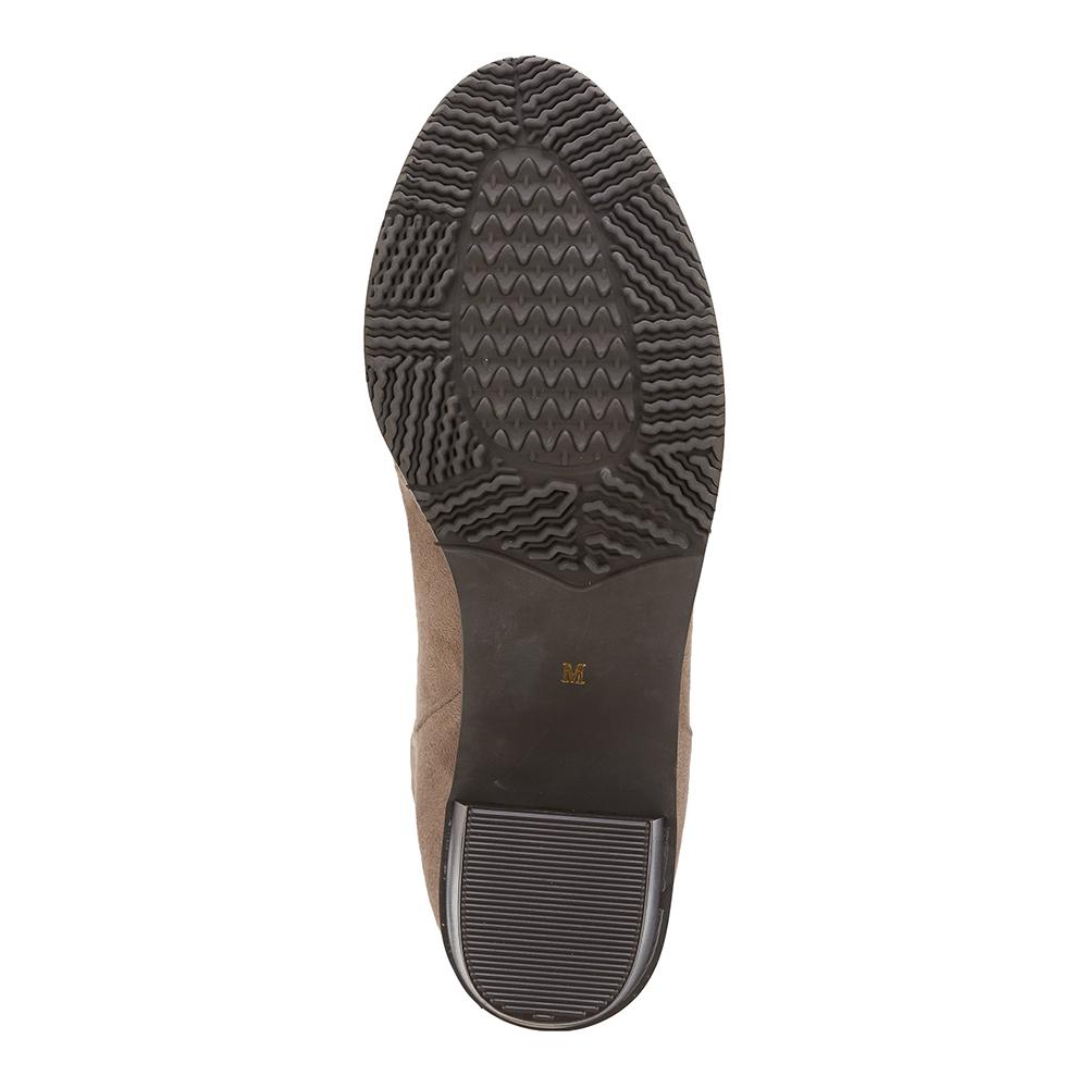 クローバーリーフ cloverleaf CL 9301 レディース靴 2E相当 ブーツ 撥水 はっ水 チャンキーヒール 太ヒール 滑りにくい ソール オークスエード TSRCtQCrshd