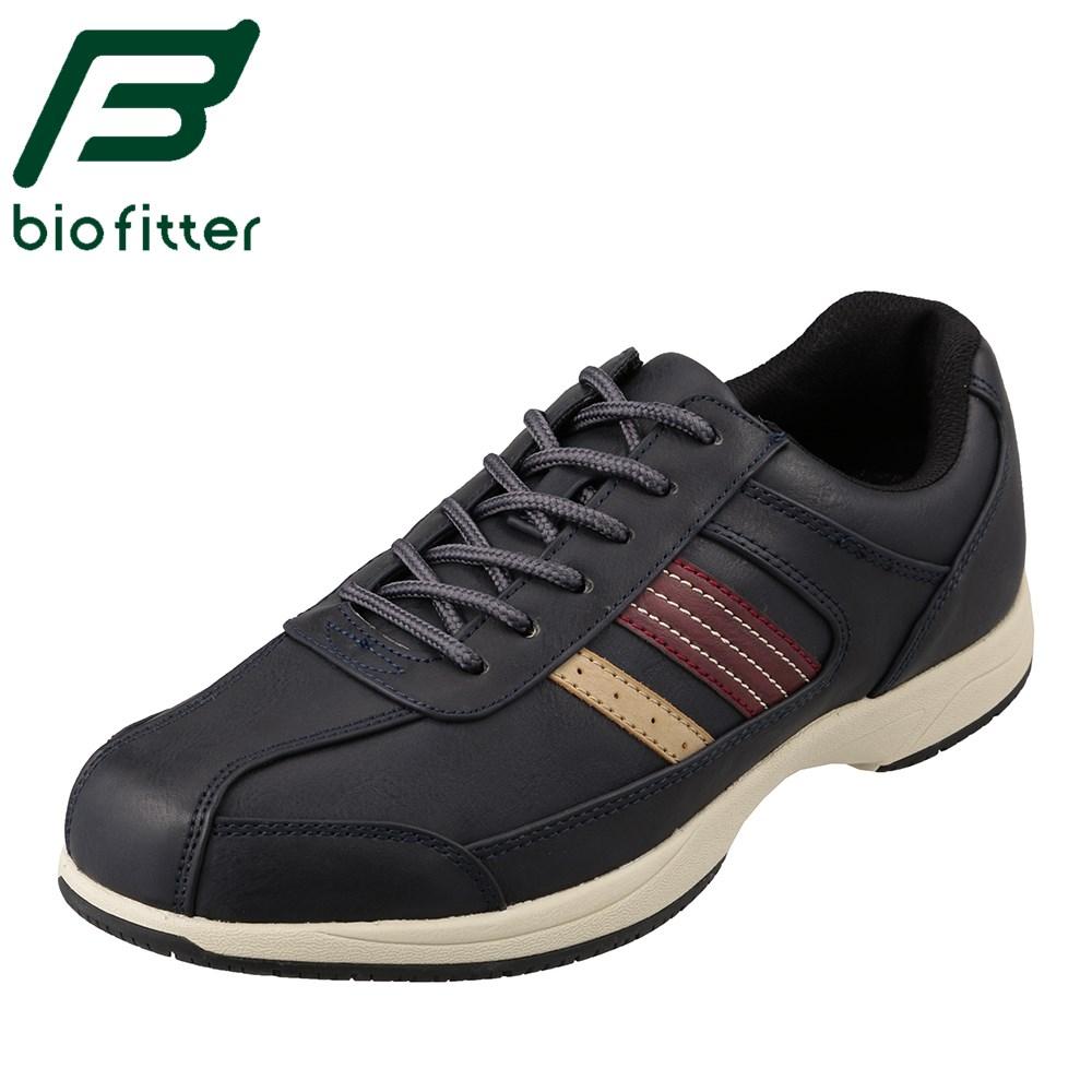 バイオフィッター スタイリッシュフォーメン Bio Fitter BF-4501 メンズ靴 靴 シューズ 3E相当 カジュアルシューズ 防水 透湿 蒸れにくい 快適 小さいサイズ対応 大きいサイズ対応 ネイビー TSRC