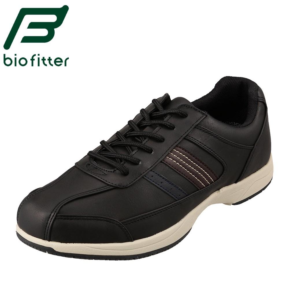 バイオフィッター スタイリッシュフォーメン Bio Fitter BF-4501 メンズ靴 靴 シューズ 3E相当 カジュアルシューズ 防水 透湿 蒸れにくい 快適 小さいサイズ対応 大きいサイズ対応 ブラック TSRC