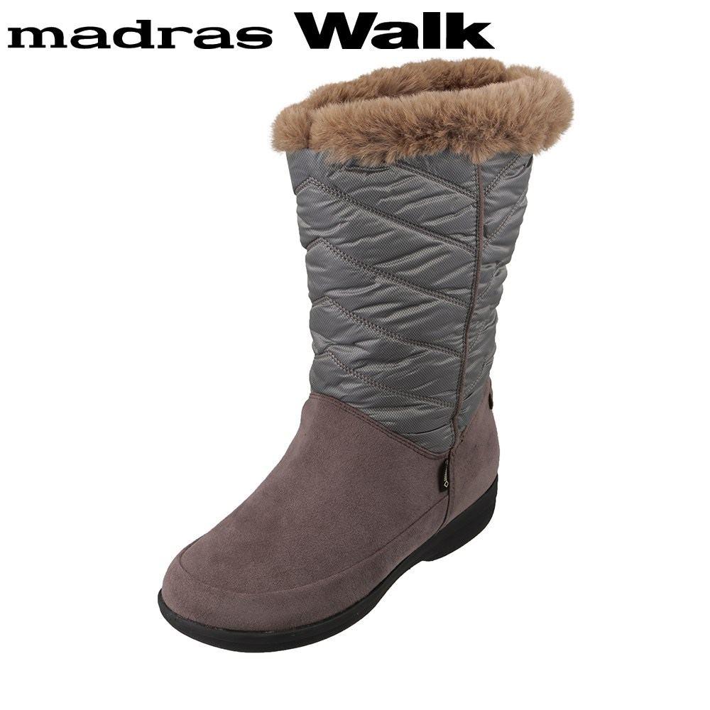 マドラスウォーク madras Walk MWL2111 レディース靴 4E相当 ブーツ ミドルブーツ 防水 雨の日 ゴアテックス 透湿 蒸れにくい オーク TSRC