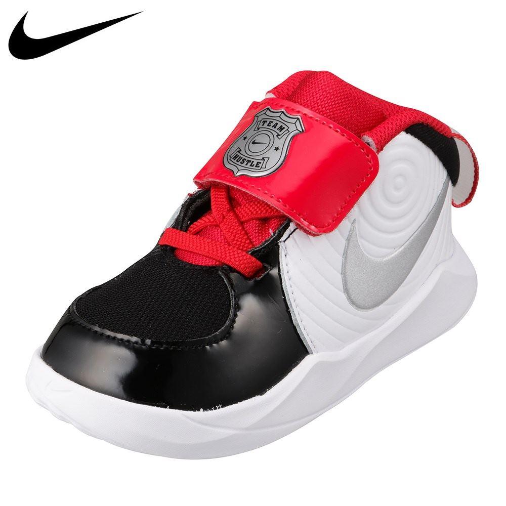 ナイキ NIKE CK0617-001 キッズ靴 靴 シューズ 2E相当 スニーカー 子供 お子様 チーム ハッスル D 9 TD オート 人気 ブランド ブラック TSRC