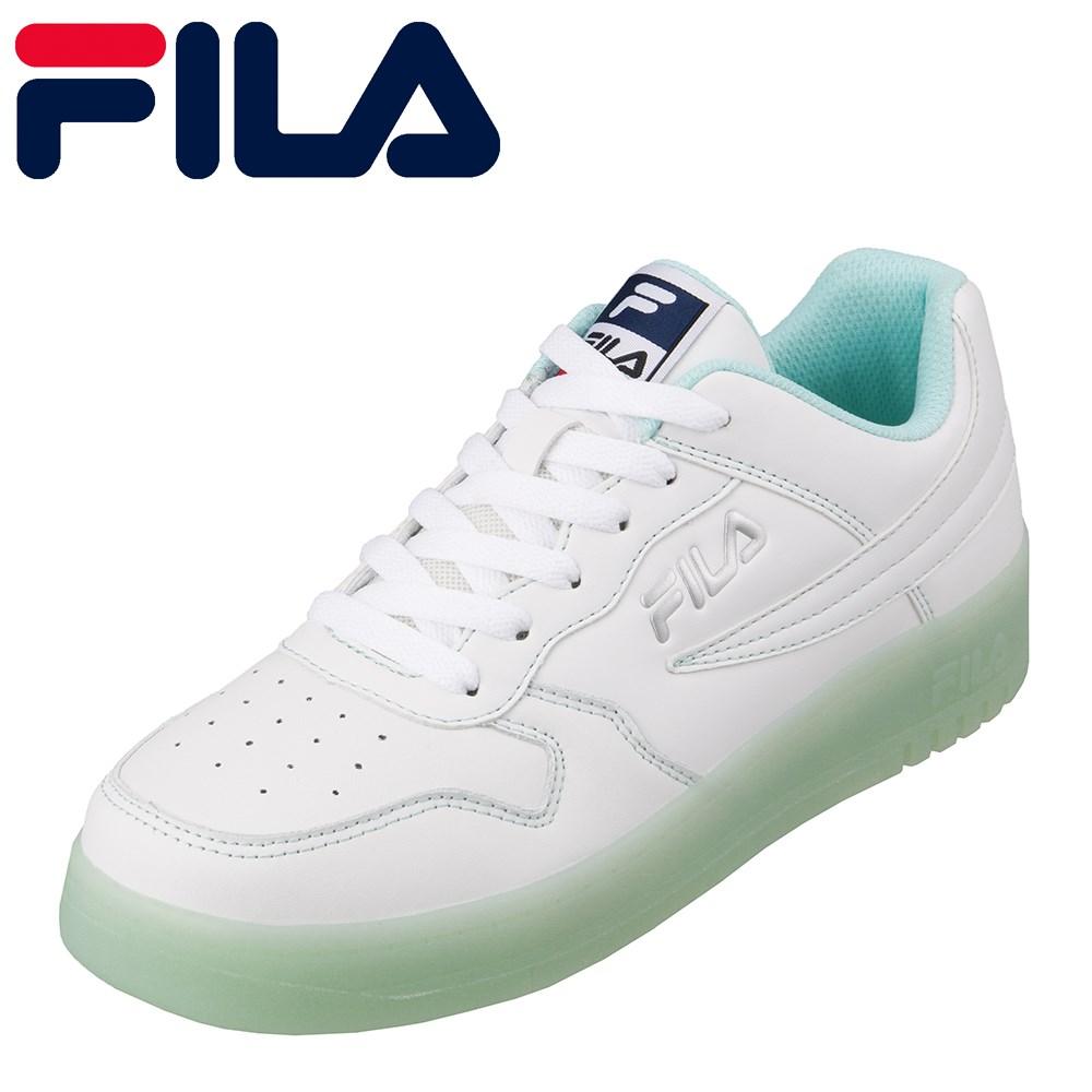 フィラ FILA FC-4207W レディース靴 靴 シューズ 2E相当 スニーカー コートタイプ クリアヒール 大きいサイズ対応 ブルー TSRC