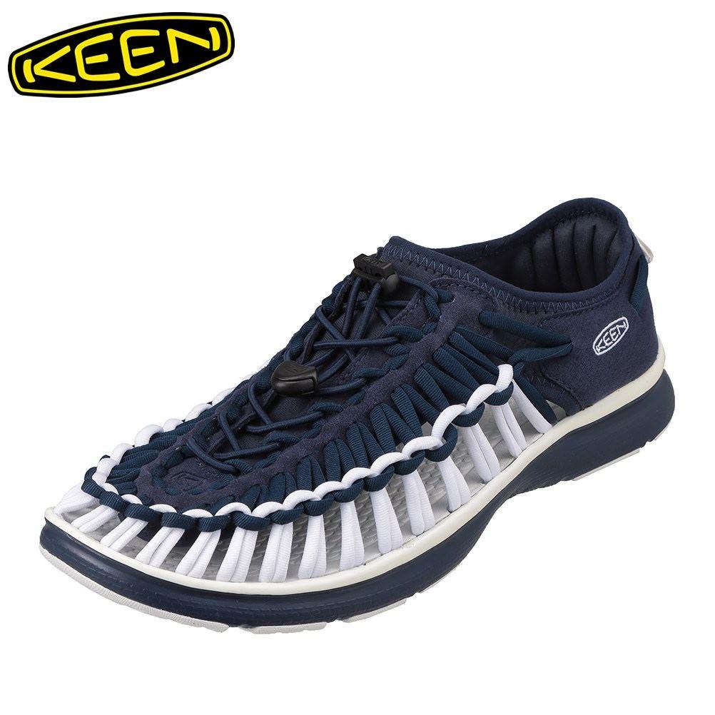 キーン キーン キーン KEEN 1021992 メンズ靴 靴 シューズ 2E相当 スニーカー 軽量 軽い UNEEK O2 ユニーク オーツー 小さいサイズ対応 大きいサイズ対応 ネイビー TSRC d02