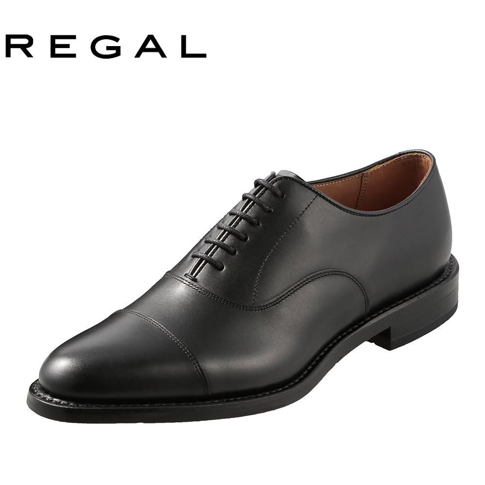 [リーガル] REGAL 02KRBH メンズ | ビジネスシューズ | 内羽根式 ストレートチップ | 冠婚葬祭 フォーマル | 小さいサイズ対応 23.5cm 24.0cm 24.5cm | ブラック TSRC