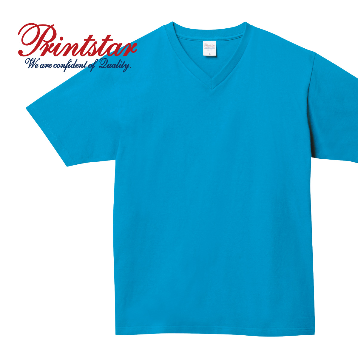 tシャツ メンズ 半袖 人気ブランド 厚手 Vネック 18%OFF 白 黒 など XS-XL 無地 Printstar 00108-VCT ヘビーウェイト プリントスター Tシャツ ユニフォーム 108vct 5.6オンス 通勤 インナー 通学