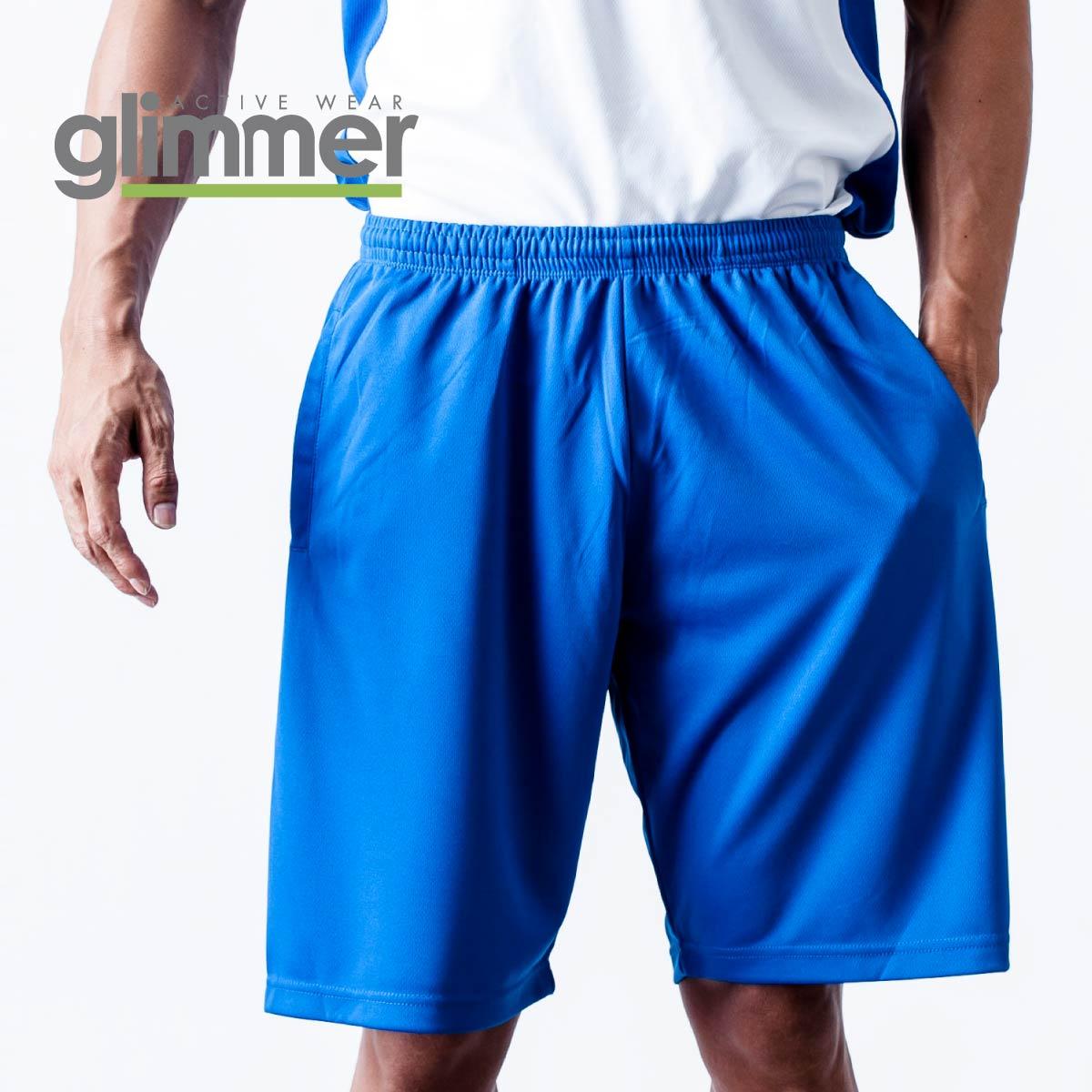 ハーフパンツ ドライ メンズ ファッション通販 吸汗 速乾 ポリエステル スポーツ GLIMMER グリマー ドライハーフパンツ 00325-ACP SS-LL キッズ 送料無料 ジュニア ジャージ 数量限定 トレーニング 325ACP 男女兼用 夏