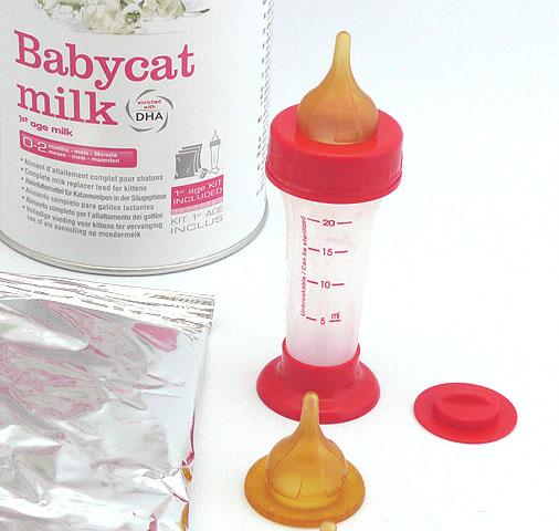 ...凯蒂乳粉 300 克婴儿的皇家 Canin 婴儿猫奶设置