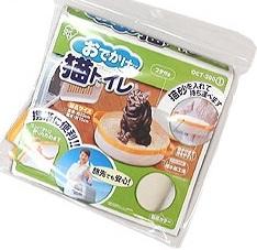 コンパクトにたためる お出かけに便利なネコ用トイレです 猫のトイレ用品 4905009383849 アイリスオーヤマ おでかけ猫トイレ 卓抜 定番の人気シリーズPOINT(ポイント)入荷 イエロー OCT-390 フタ付き携帯用猫トイレ