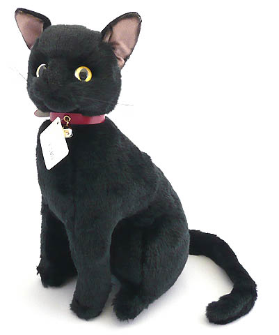 Time In Heart Stuffed Shiki Original Black Cat Za Rakuten