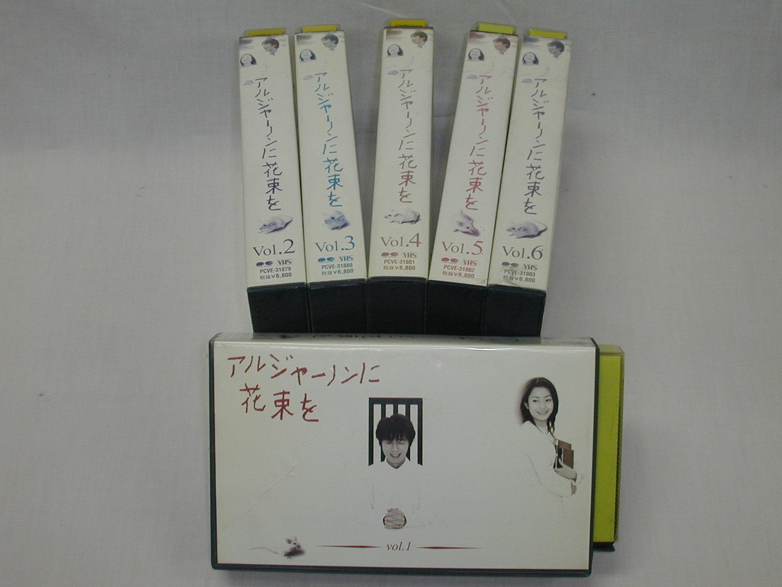 (ビデオ)関西テレビ アルジャーノンに花束を 全6巻