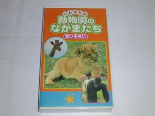 限定タイムセール ビデオ 格安 価格でご提供いたします にんきもの 動物園のなかまたち せいぞろい