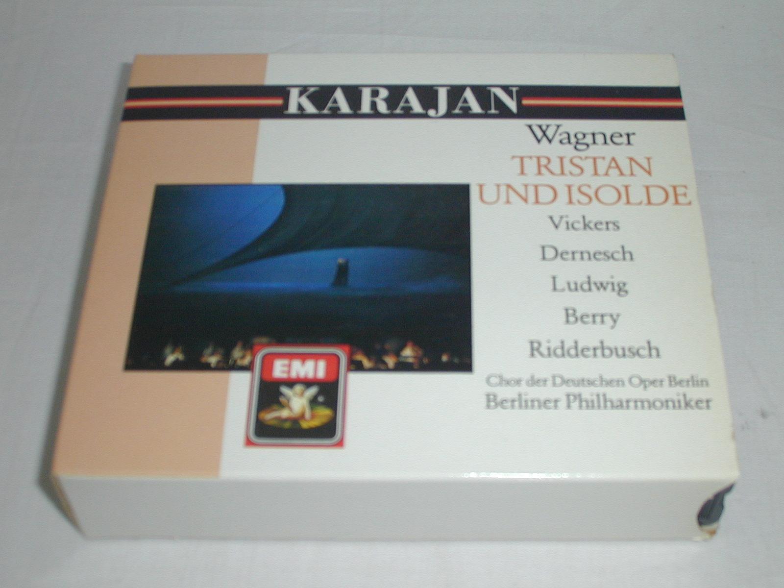 (CD) ワーグナー:楽劇「トリスタンとイゾルデ」 /カラヤン <4枚組>