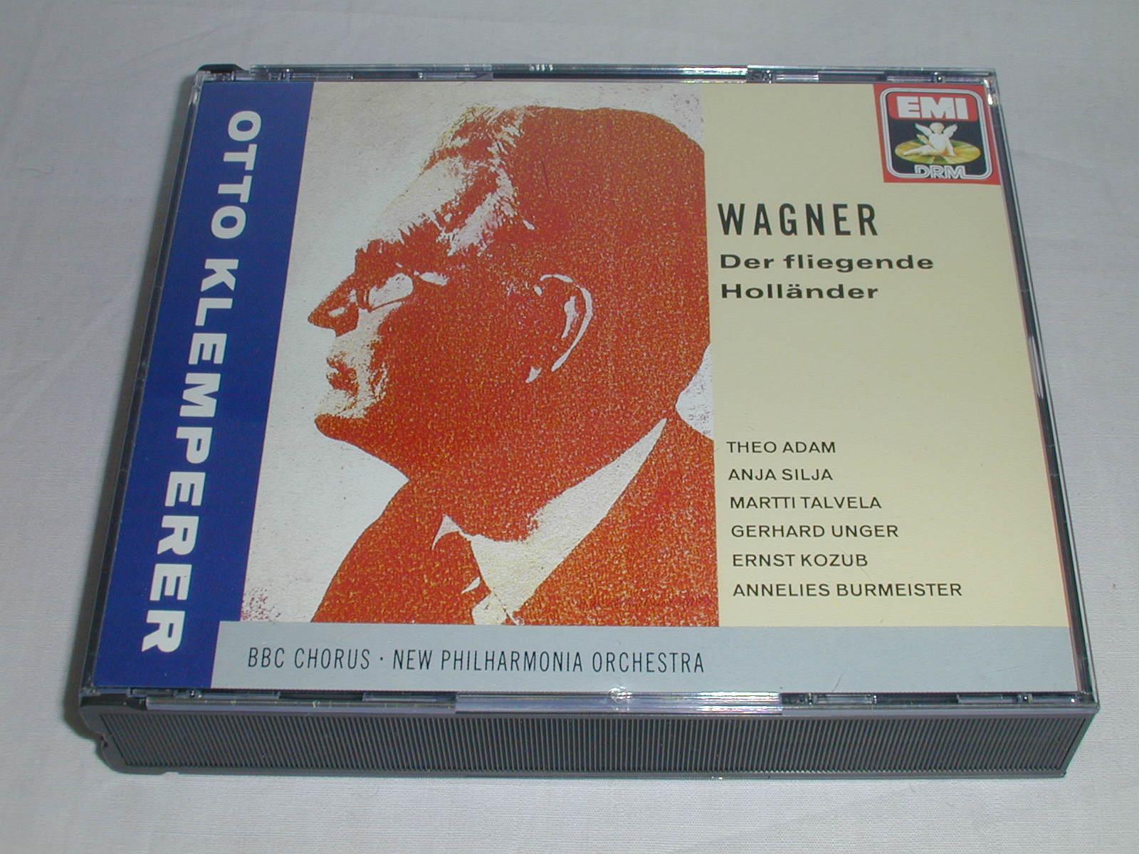 (CD) ワーグナー:歌劇「さまよえるオランダ人」/クレンペラー <3枚組>