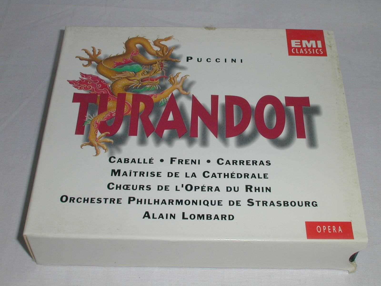 (CD) プッチーニ:歌劇「トゥランドット」/ロンバート <2枚組>