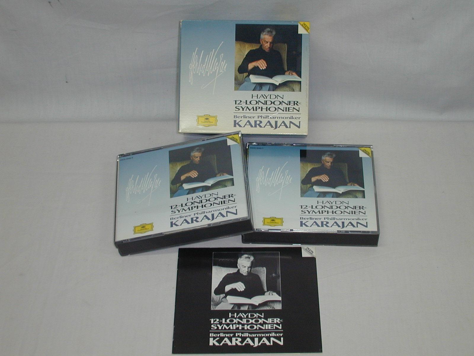 (CD) ハイドン:「ロンドン交響曲」集/カラヤン <5枚組>