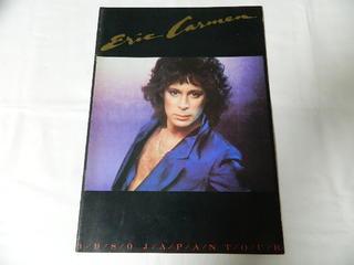 〇 パンフ 新作続 ERIC 激安通販 CARMEN エリックカルメン 中古 1980 TOUR JAPAN