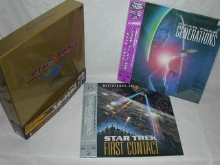 (LD)スター・トレック 劇場版1~6 バイリンガル・コレクションBOX+「ジェネレーションズ」+「ファースト・コンタクト」