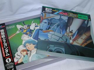 (LDレーザーディスク)機動戦士Zガンダム メモリアルボックスPART1,2セット【中古】