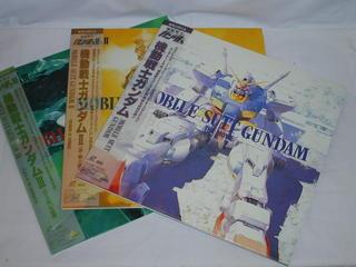 (LD:レーザーディスク)機動戦士ガンダムMOBILE SUIT GUNDAM1,2,3 劇場版3部作セット【中古】