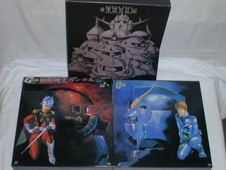 (LD:レーザーディスク)機動戦士ガンダム メモリアルボックス PART1・2セット【中古】