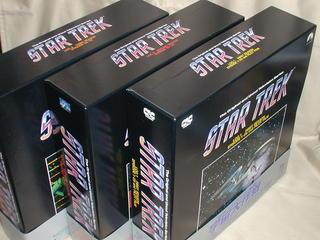 (LD:レーザーディスク)宇宙大作戦 スタートレックTV 全3BOXセット