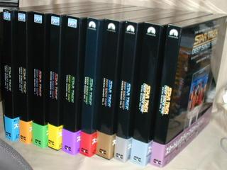 (LD)スタートレック DEEP SPACE NINE LD-BOX 全10巻セット