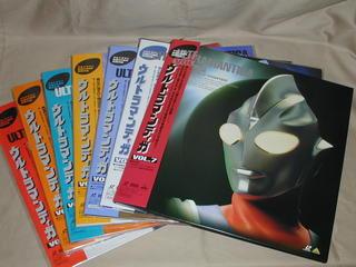 (LD)ウルトラマンティガ 全7巻セット