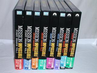 (LD)スパイ大作戦 LD-BOX全8巻セット