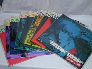 (LD)カウボーイビバップ COWBOY BEBOP Session♯0+1~9 全10巻セット