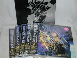 (LD)機動新世紀ガンダムX 全5巻セット