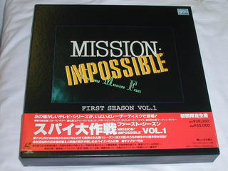(LD)スパイ大作戦 ファースト・シーズンVOL.1LD-BOX