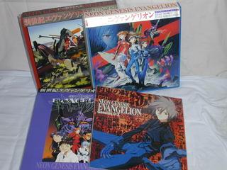 (LD:レーザーディスク)新世紀エヴァンゲリオン 全14巻+非売品X  3BOX付き